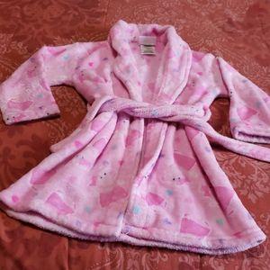 Peppa pig toddler girl robe